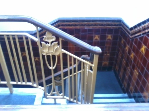 Lea bridge library staircase