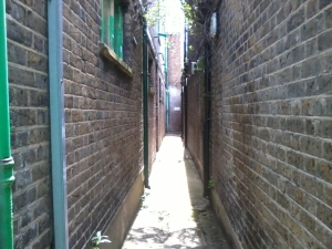 Up Manze's alley