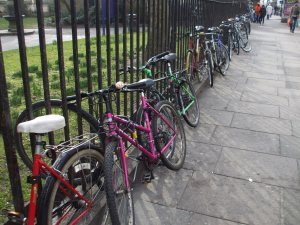 bicycles at Bethnal Green