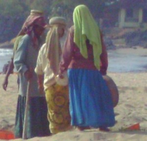 hubba on Goa Beach 12th Nov 2011